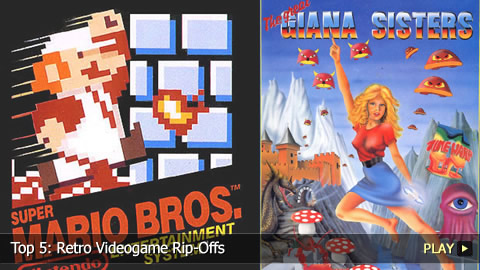 Top 5: Retro Videogame Rip-Offs