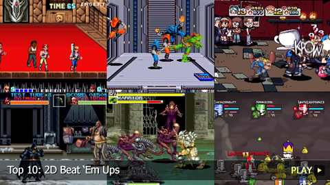 Top 10: 2D Beat Em Ups