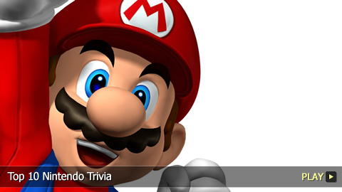 Top 10 Nintendo Trivia
