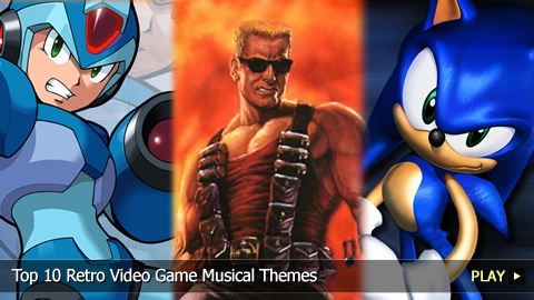 Top 10 Retro Video Game Musical Themes