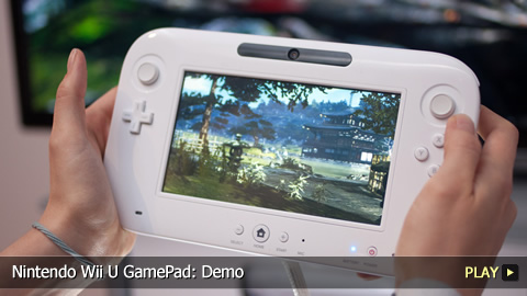 Nintendo Wii U GamePad: Demo