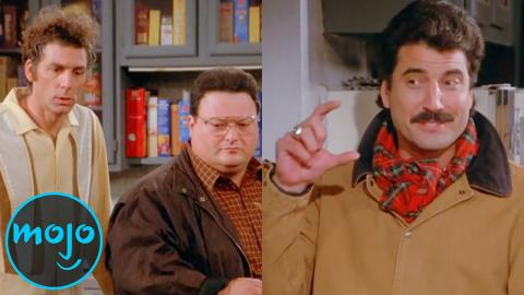 WatchMojo is counting down the top 10 celebrities who appeared on Seinfeld.  We've included memorable and hilarious cameos from stars like ...