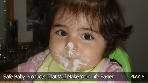 Safe Baby Products That Will Make Your Life Easier