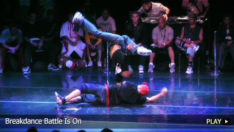 The Breakdance Battle Is On