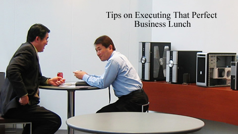 Business Lunch Etiquette