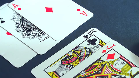 Magic Tricks - Playing Cards: Floating Card