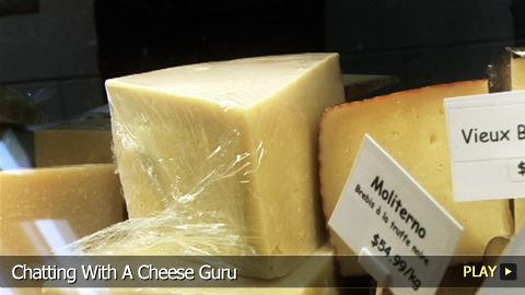 Chatting With A Cheese Guru