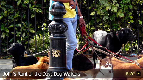 John's Rant of the Day: Dog Walkers