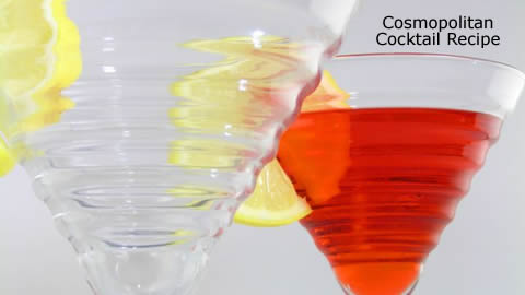 Video Drink Recipe: Cosmopolitan