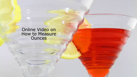 Bartending Tips: How to Measure Ounces