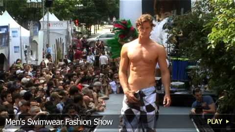 Men's Swimwear Fashion Show