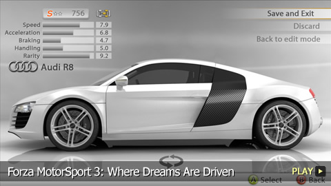 Forza MotorSport 3: Where Dreams Are Driven