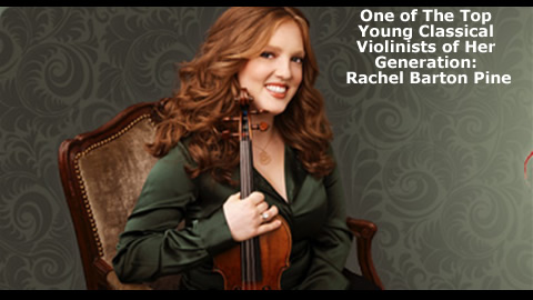 Violinist Rachel Barton Pine From Mozart to Metallica
