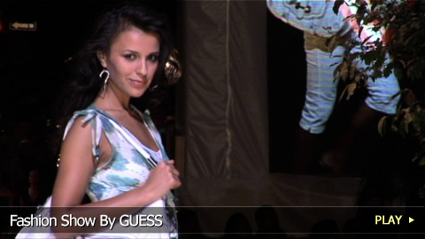 Fashion Show Featuring a Collection By GUESS