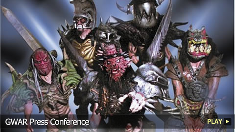 GWAR Press Conference