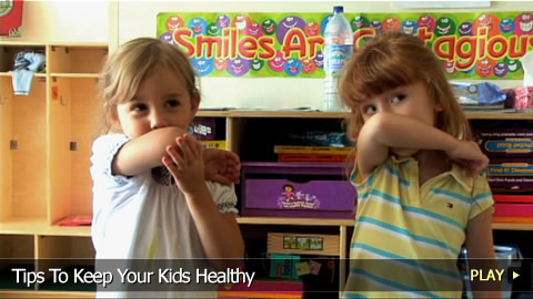 Tips To Keep Your Kids Healthy At School