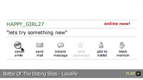 Battle Of The Dating Sites - Lavalife