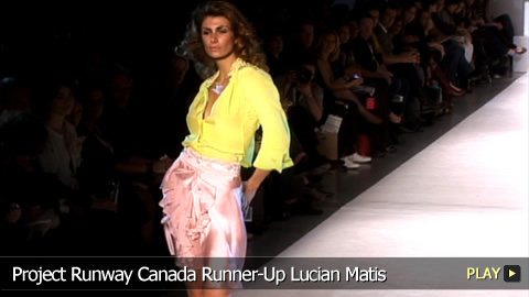Project Runway Canada Runner-Up Lucian Matis