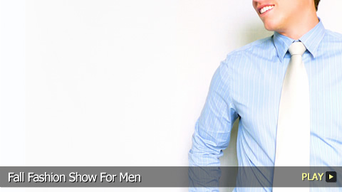 Fall Fashion Show For Men