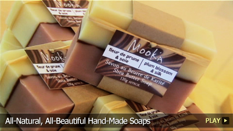 All-Natural, All-Beautiful Hand-Made Soaps