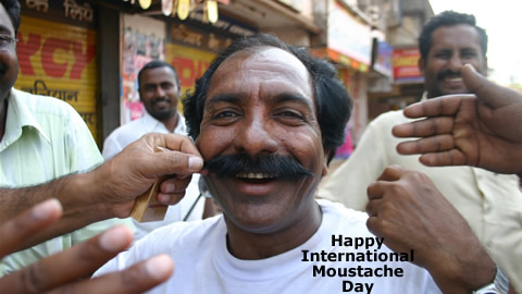 Comedy Spoof: International Moustache Day