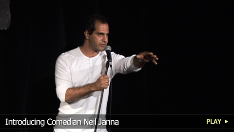 Introducing Comedian Neil Janna