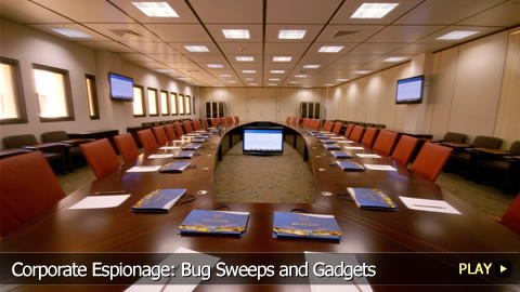 Corporate Espionage: Bug Sweeps and Gadgets