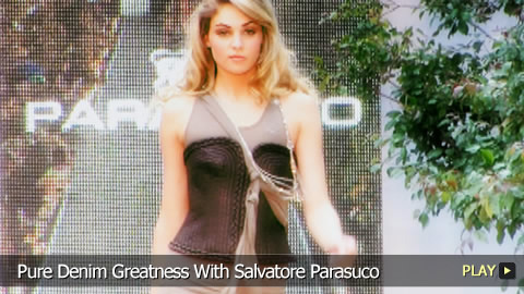 Pure Denim Greatness With Salvatore Parasuco