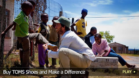 Buy TOMS Shoes and Make a Difference