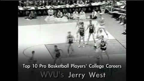 Jerry West - West Virginia University Mountaineers - Greatest Basketball Players