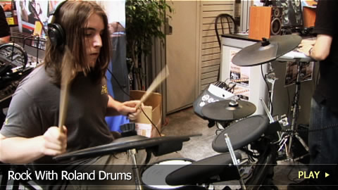 Rock With Roland Drums