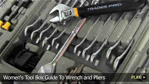 Women's Tool Box Guide: Wrenchs and Pliers