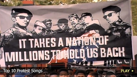 a9a8643d2ccc Top 10 Protest SongsGive them three chords and they ll give you the truth.  Welcome to WatchMojo.com