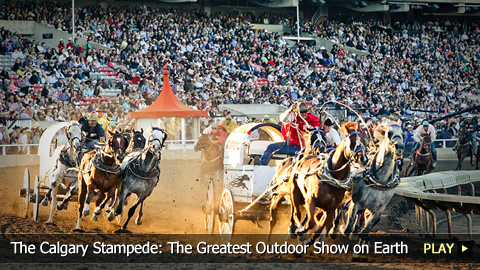 The Calgary Stampede The Greatest Outdoor Show On Earth